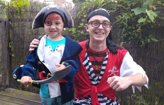 Pirate Party with Harry Sparkles