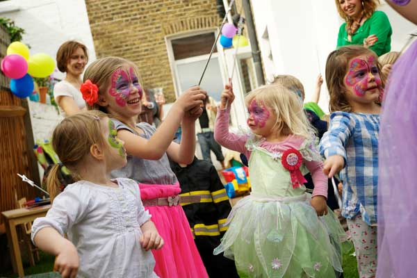 Children's Kids birthday party entertainers London, Surrey, Essex