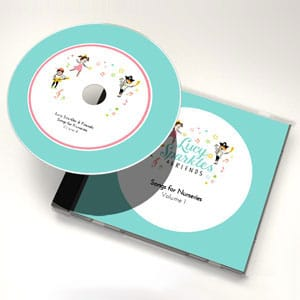Lucy Sparkles & Friends: Songs for nurseries - Volume 1