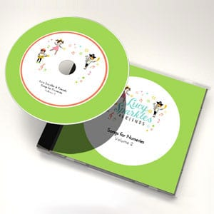 Lucy Sparkles & Friends: Songs for nurseries - Volume 2