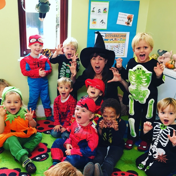 Halloween Party for a nursery in Herne Hill