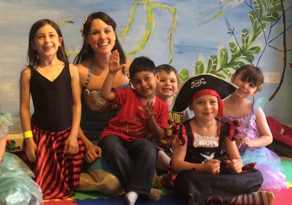 Mermaids and Pirates Holiday class in East Dulwich