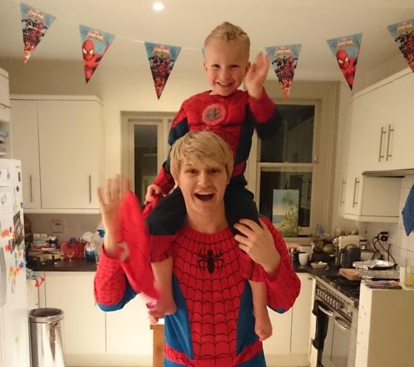 Superhero children's party