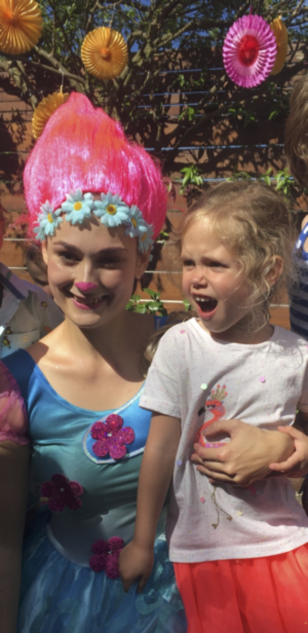 Trolls Party Princess Poppy Lucy Sparkles Friends