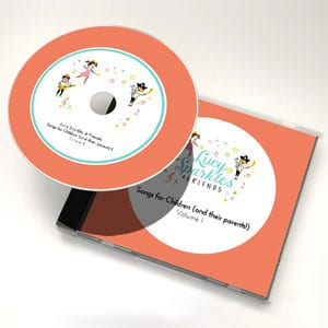 Lucy Sparkles & Friends: Songs for Children (and their parents!)